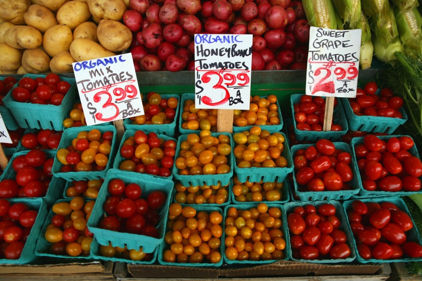 Pike Place Market Produce Stand, 2006